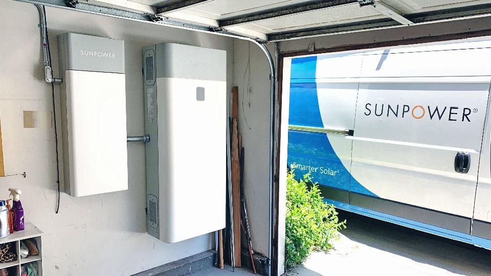 SunVault Storage System SunPower